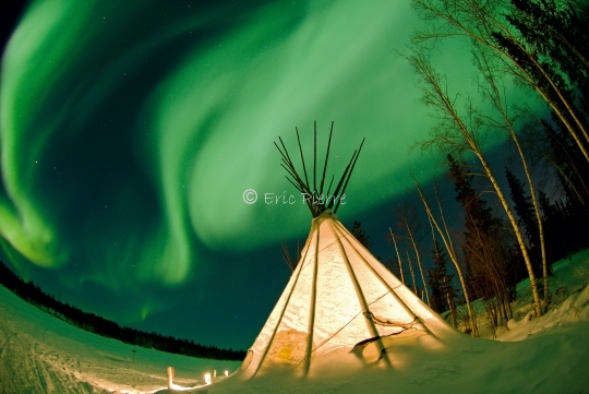 Boreal Light and Tipi
